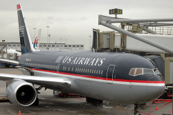 US Airways landed (photo by caribb)