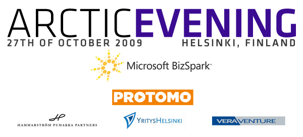 ArcticEvening Helsinki, held October 27th!