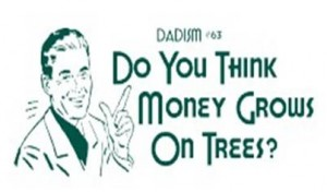 money on  trees
