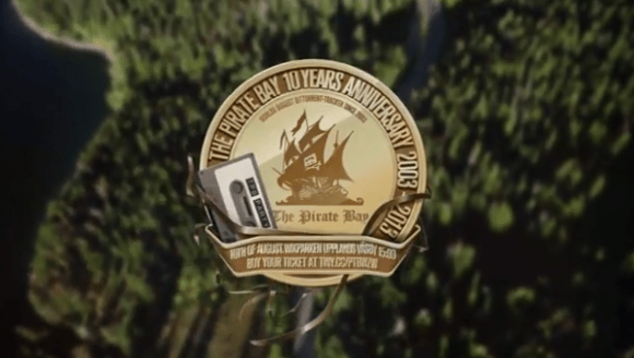The Pirate Bay Celebrates 10 Years with Festival, New