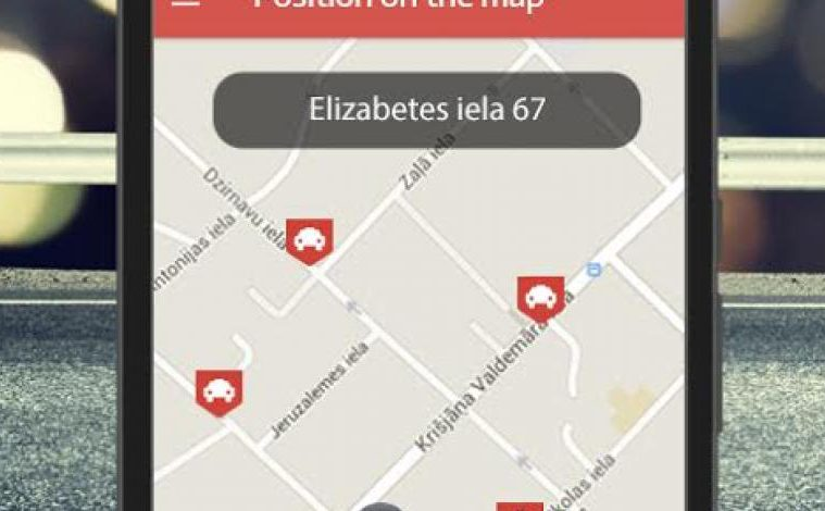 Taxi Pocket another on-demand service for the Baltics