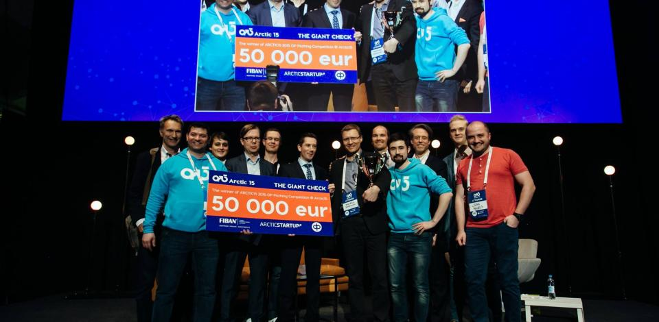 Apply For NewCo Accelerator Pitching Competition at Arctic15